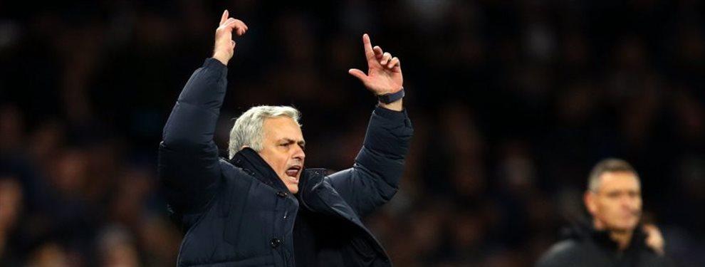 Mourinho empieza a darse cuenta de lo que tiene entre manos. Será su prueba de fuego para saber si está preparado para volver a un grande o si es su ocaso