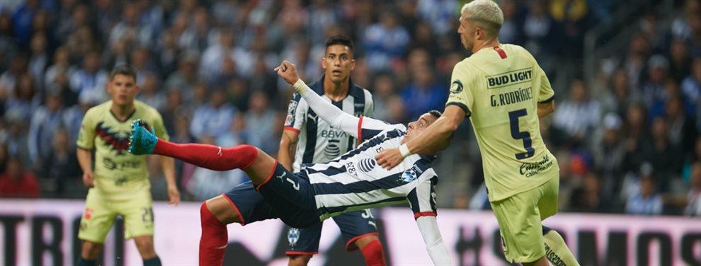 Con un agónico gol de Funes Mori, Monterrey venció a América en la final