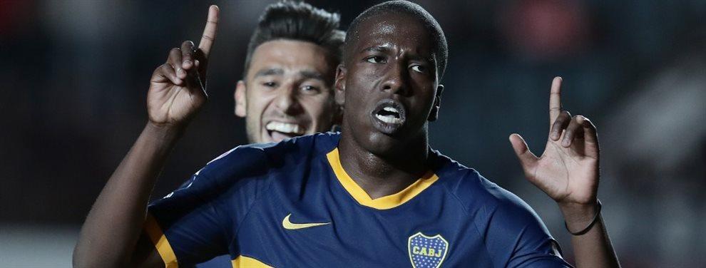 El representante de Jan Hurtado confirmó que recibió dos sondeos desde Brasil, pero el futbolista desea seguir en Boca.