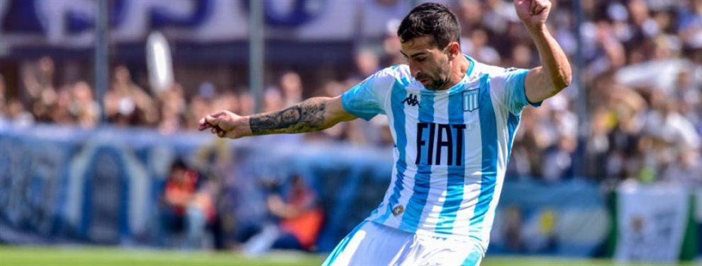 Racing y San Lorenzo podrían realizar un trueque entre Alejandro Donatti y Héctor Fértoli