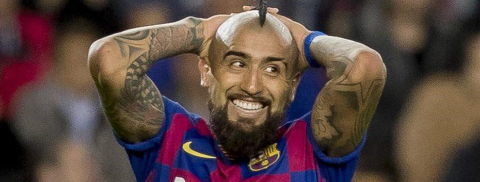 Arturo Vidal es el nombre del mercado invernal para el Barcelona. Altibajos han marcado el paso del chileno por el conjunto blaugrana.