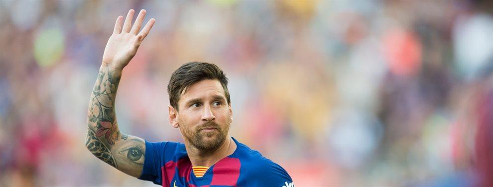 La aparición del futbolista no ha dejado indiferente a Lionel Messi, quien aprueba que su club vaya en busca del fichaje.