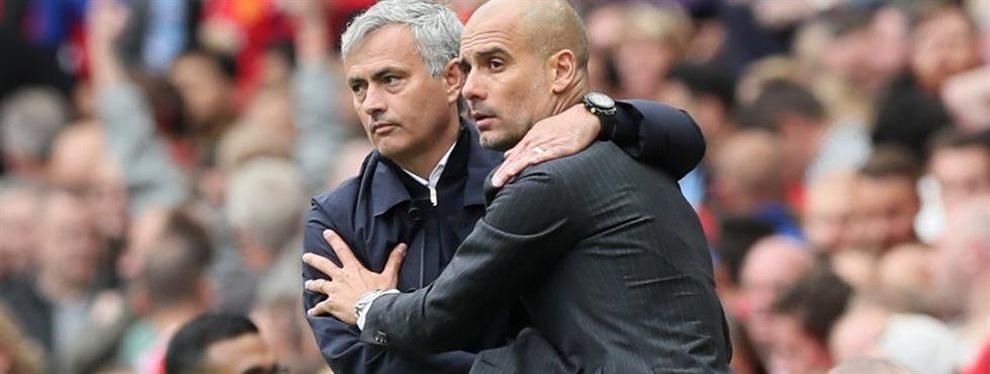 Vuelve la legendaria batalla entre Guardiola y Mourinho en la Premier League, aunque esta vez desde las oficinas.
