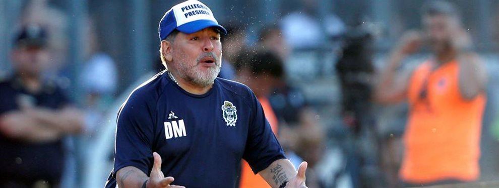 Diego Armando Maradona pretende sumar a un nuevo arquero en Gimnasia de La Plata.