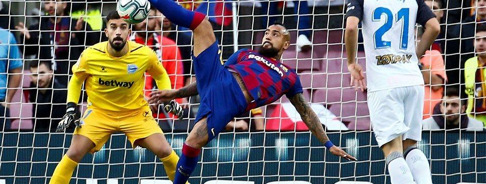 Abel Ruiz saldrá del Barça por culpa de Ernesto Valverde, que no le ha dado oportunidades