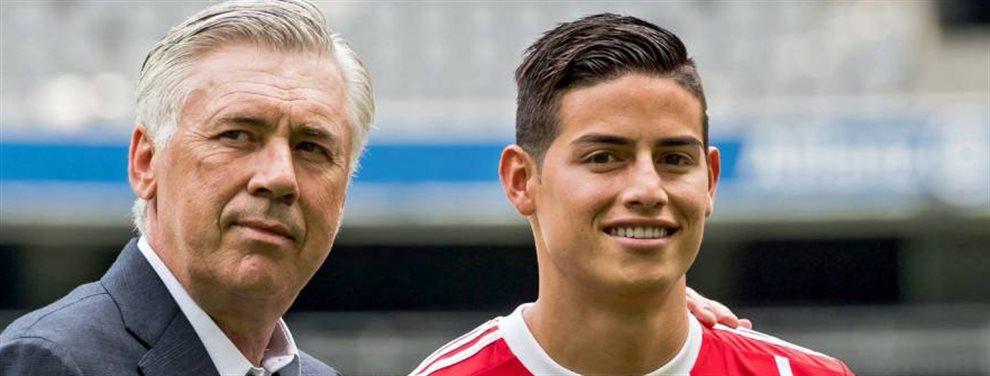 James Rodríguez ha recibido una llamada que puede ser definitiva. Una llamada que va a sacarle del Real Madrid para vivir una nueva experiencia para él