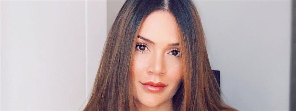 La actriz Lina Tejeiro intenta despedir el año con la mejor de las actitudes, aunque acompaña de ropa ceñida que deje a la vista su tamaño de delantera