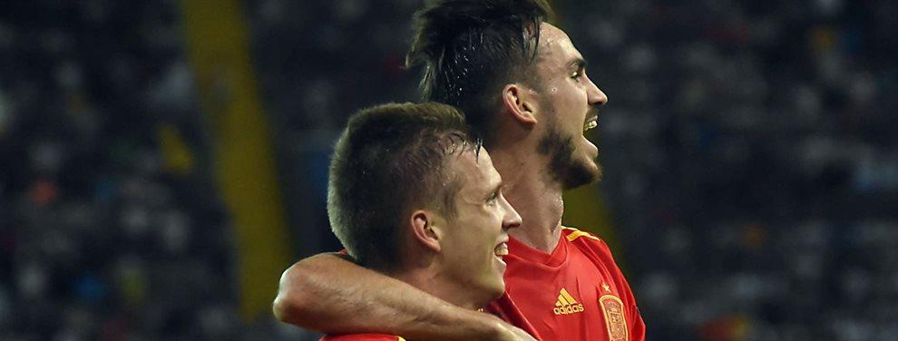 El Fútbol Club Barcelona encuentra mucha satisfacción fichando jugadores que pretende el Real Madrid. Y lo ha vuelto a hacer. El robo es un hecho ya