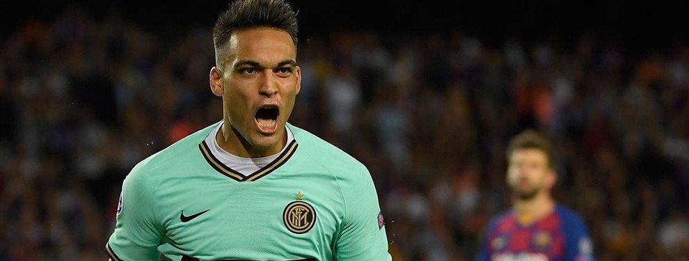 El Barça consigue desbloquear a Lautaro Martínez por 110 kilos a costa de atacar a otro grande ¡Mikel Arteta se resiste y puede haber guerra a tres bandas!