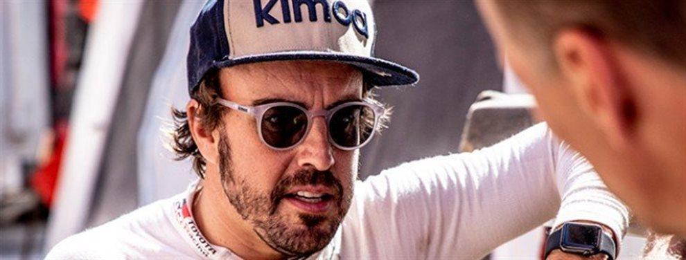Fernando Alonso y Carlos Sainz por fin van a correr al lado. Ambos se respetan y quieren lo mejor, pero el Rally Dakar no entiende de amistad. Arabia Saudi
