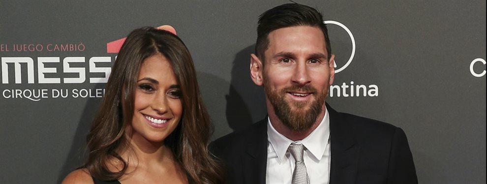 Antonella Roccuzzo y Leo Messi celebraron la llegada de 2020 con un selfie bomba