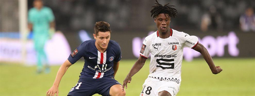 El Real Madrid se ha fijado en el fichaje de Boubakary Soumaré, del Lille, comparado con Kanté