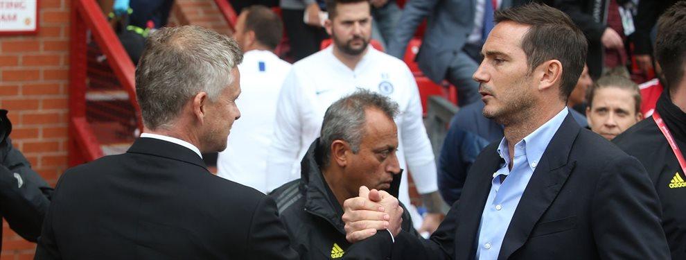 La próxima locura del mercado está por llegar y el Real Madrid se retira de la puja ¡Solskjaer y Lampard sí luchará por uno de los grande killers europeos!
