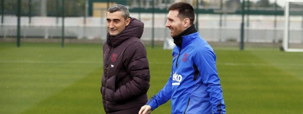 Valverde lo quiere fuera antes de que acabe enero (y no es Umtiti)