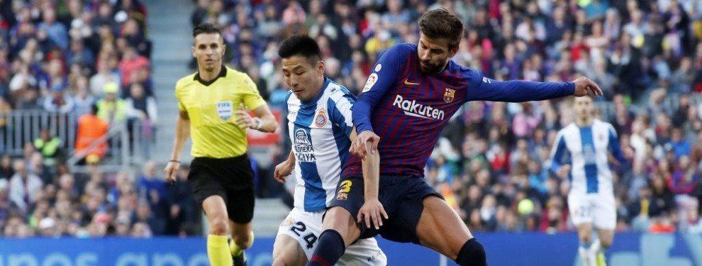 """""""Se despide de Messi, Suárez y Piqué"""". ¡Vendido! Bomba en el Espanyol-Barça"""