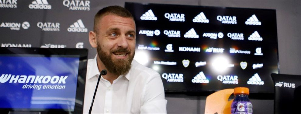 Daniele De Rossi confirma su salida de Boca Juniors
