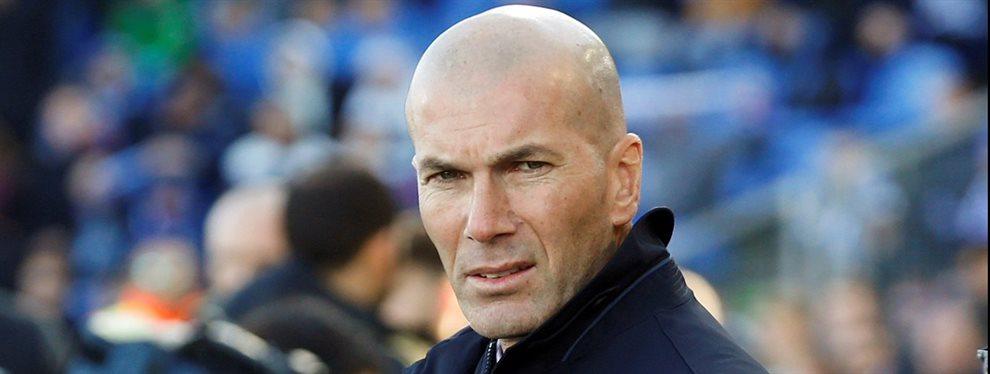 Ojo a la puñalada trapera que le asesta un compañero de Zinedine Zidane antes del primer partido de la Supercopa ante el Valencia ¡El galo no se lo espera!