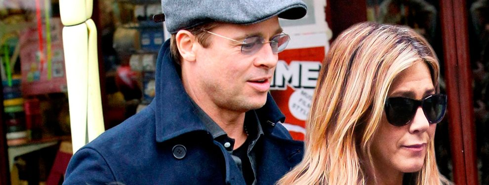 ¡Cazada! Brad Pitt y Jennifer Aniston ¡juntos de nuevo! ¡Together!