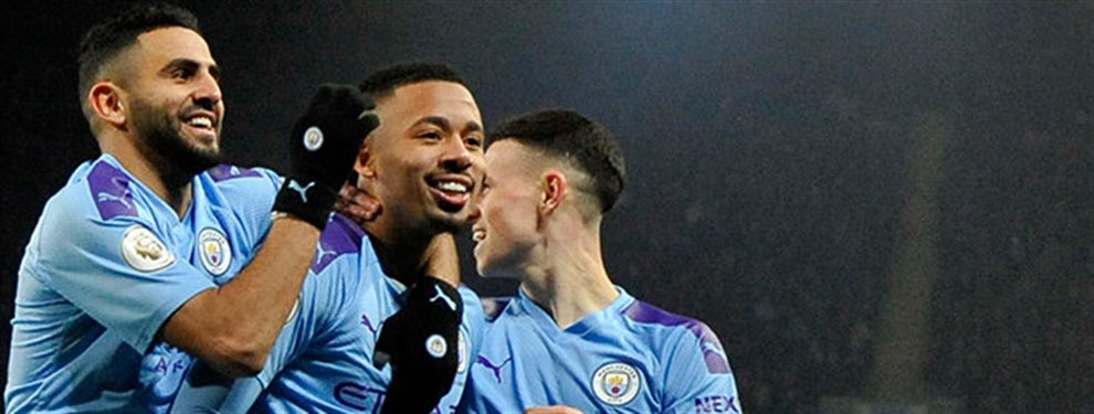 Con un 3 a 1 el Manchester City venció a United y sacó una ligera ventaja para la vuelta por las semifinales de la Copa de la Liga