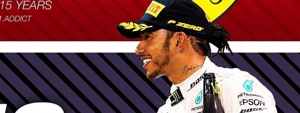Lewis Hamilton a Ferrari. Es lo que todos quieren oír. En cuanto alguien dice eso todos se lanzan a por él. Esta vez la información viene de Max Verstappen
