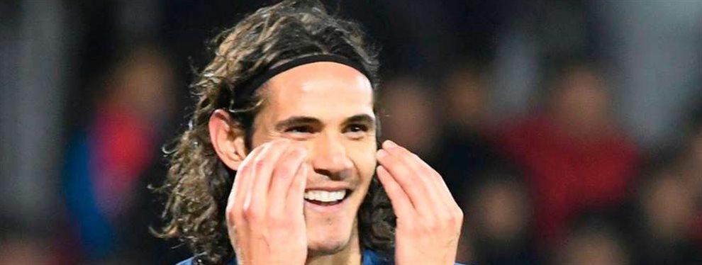 Edison Cavani deja tirado al Atético de Madrid y elige destino para 2020