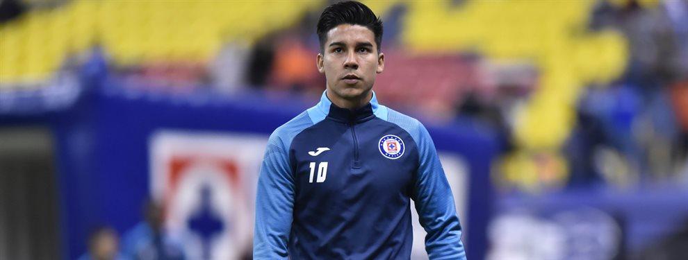 Guillermo Fernández abandonaría a Cruz Azul y regresaría a Boca a préstamo por un año.