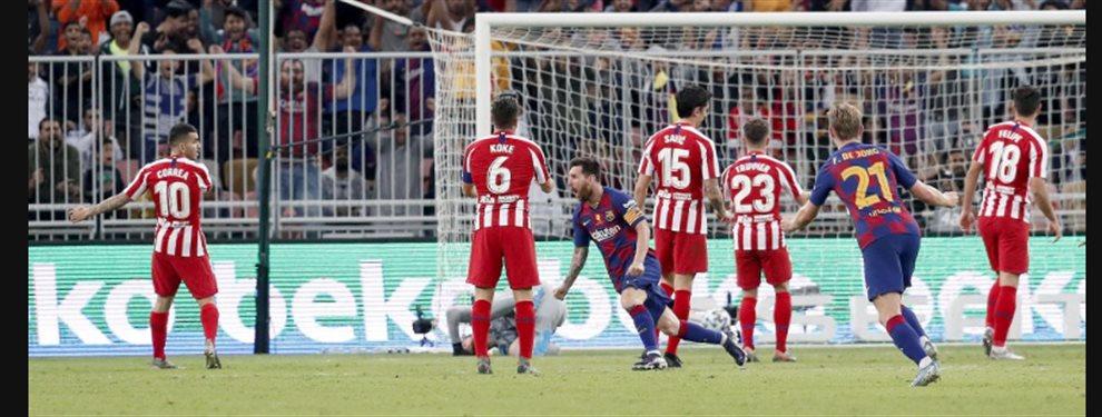 Leo Messi ha vetado la llegada de Lautaro Martínez desde el Inter de Milán, y pide a Neymar