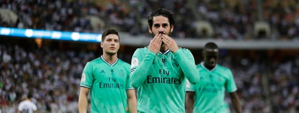 El Real Madrid alucina con él ¡Este súper entrenador quiere que Isco Alarcón sea la estrella de su equipo y lo lidere para la gran competición! ¡Enorme!