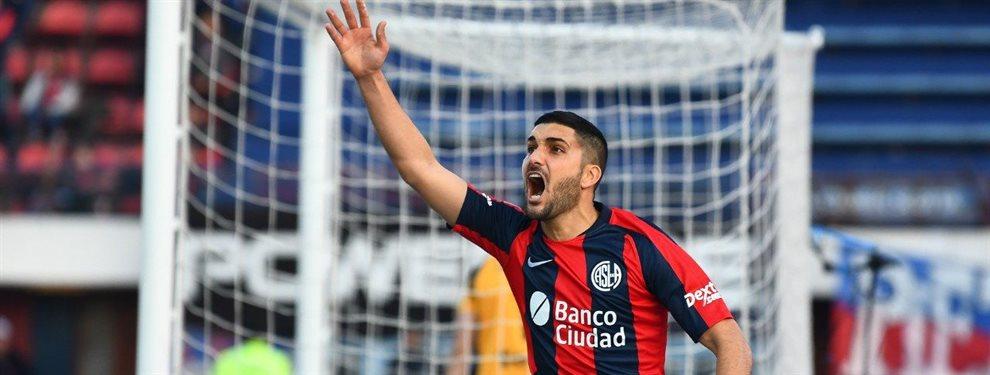 Nicolás Blandi se marchará de San Lorenzo y se convertirá en nuevo futbolista de Colo Colo.