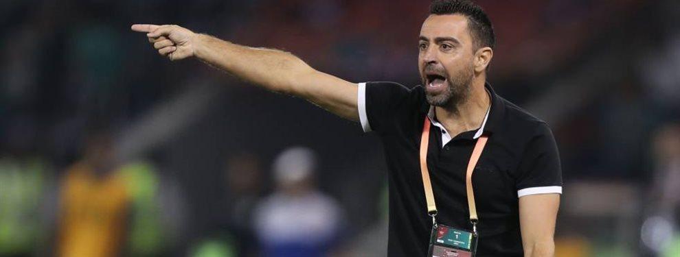 Dos directivos del Barcelona se habrían reunido con Xavi Hernández en Doha, Qatar.