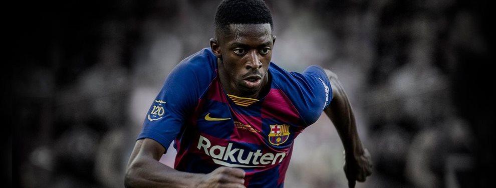 La por ahora eterna promesa del Barça, Ousmane Dembélé, ya no tiene a la dirigencia a su favor como antes.
