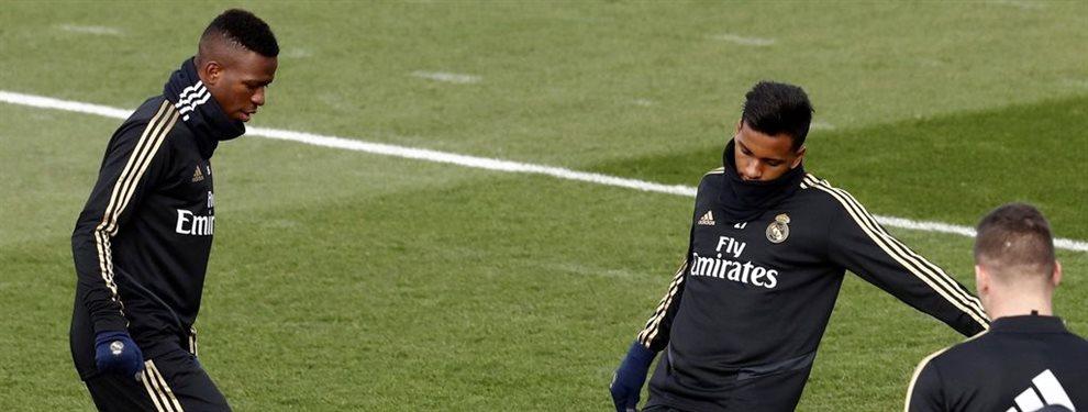 Zinedine Zidane está muy desencantado con Luka Jovic, que se irá, y Ferland Mendy, al que no ve como titular