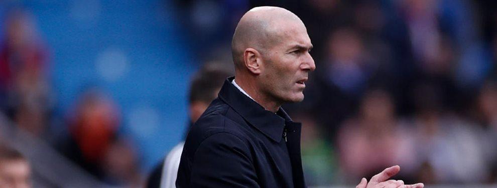 Zinedine Zidane opina que solo Laurent Blanc es un entrenador del nivel del Barça