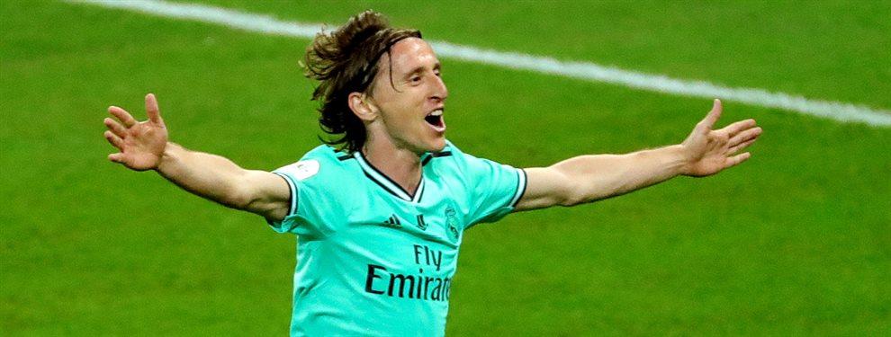 La irrupción de Fede Valverde se ha cobrado la víctima de Luka Modric, que dejará el Real Madrid