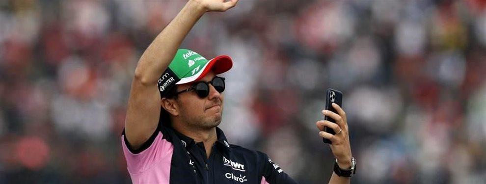 """Sergio el Checo Pérez ha sido elegido como el piloto """"más subestimado"""" por parte de la FIA. Es una recompensa al buen trabajo que ha hecho todo el año"""