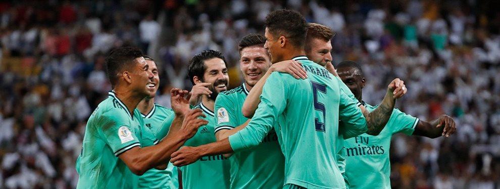 El Real Madrid está en la cresta de la ola pero ahora Zinedine Zidane tiene que hacer frente a un problema gordo e interno que tiene en vilo al equipo