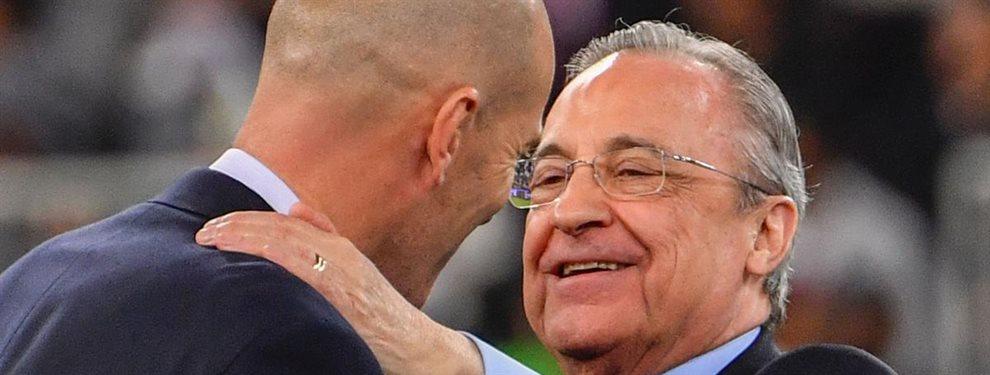 A Zinedine Zidane no le ha gustado ni un pelo saber que Florentino Pérez no irá a por Paul Pogba