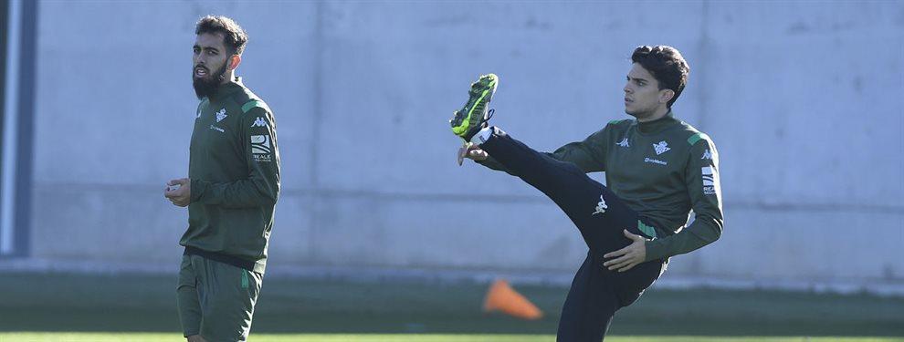 Gerard Piqué sabe que Aïssa Mandi está como loco por volver a coincidir con Quique Setién, ahora en el Barça