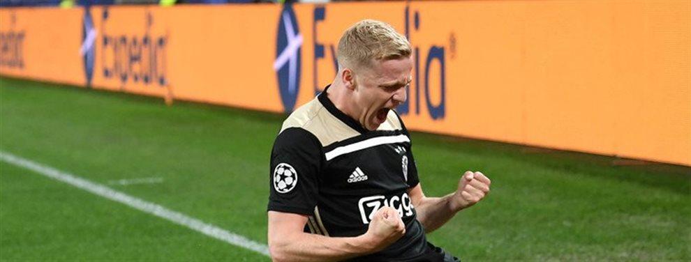 Donny Van de Beek ya ha cerrado su fichaje por el Real Madrid.Será jugador blanco en 2020 y con esto cierra las puertas a Pogba como jugador del Madrid
