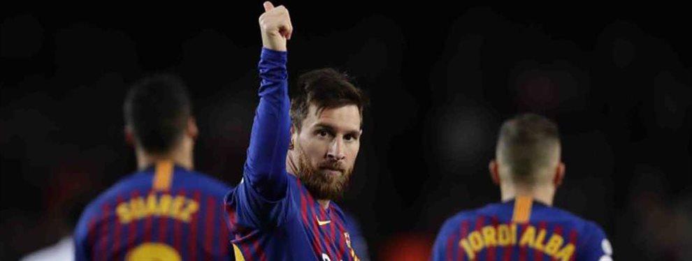 Leo Messi tiene miedo del Real Madrid, y más, si Eden Hazard regresa a su mejor nivel