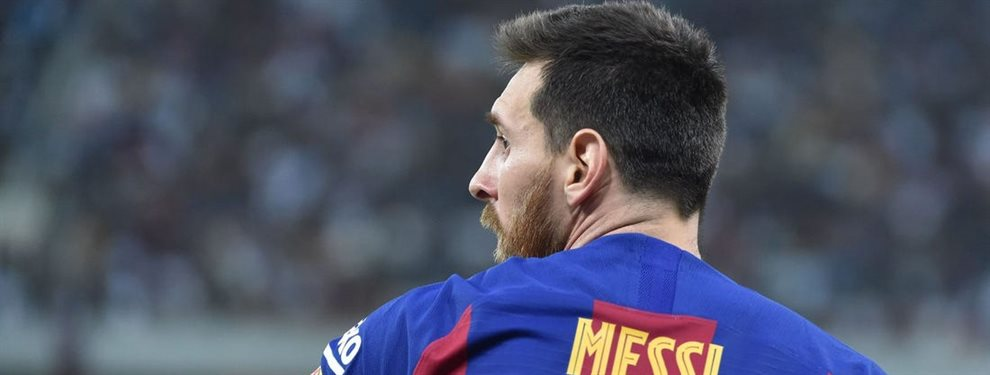 Lionel Messi fue incluido por los simpatizantes que votaron dentro del equipo ideal de la UEFA.