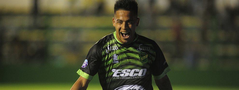 Nicolás Fernández, goleador de Defensa y Justicia, sería pretendido por San Lorenzo.