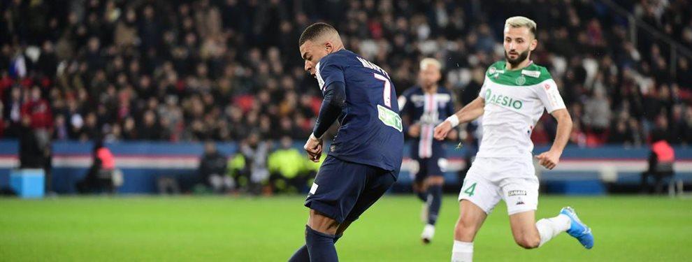 Florentino Pérez tiene un plan para conseguir el fichaje de Kylian Mbappé, del PSG