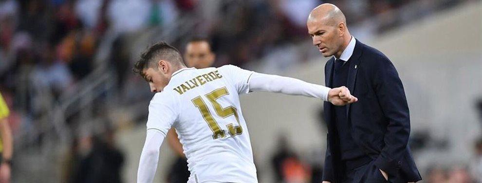 Zinedine Zidane ha sentenciado más si cabe, ni no lo estaba ya, a Gareth Bale del Real Madrid.
