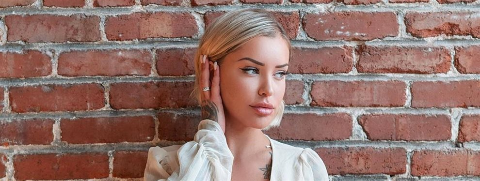 La modelo Laurence Bédard es conocida por la cantidad de tatuajes que tiene en su cuerpo pero sorprende con el par de flores a la altura de las clavículas