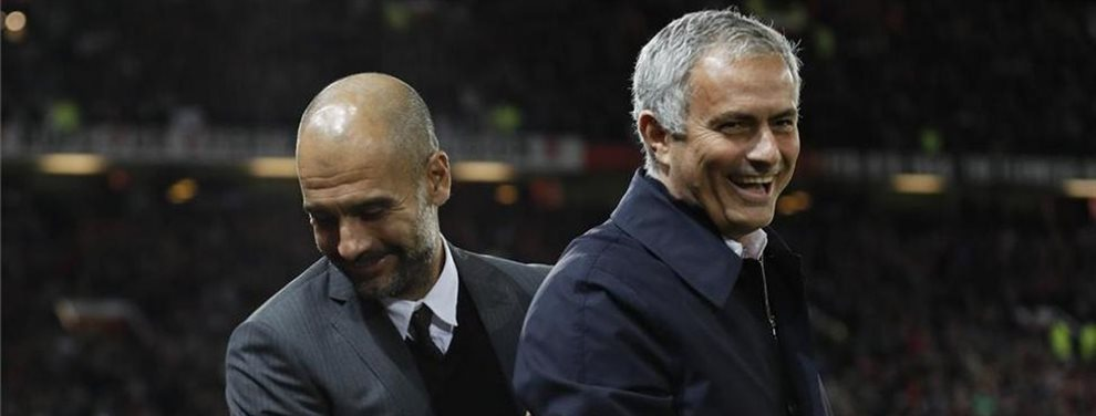 Vaya cómo cambian los tiempos: ¡José Mourinho llama a Guardiola para pedirle que deje marchar a uno de sus jugadores al Tottenham! Pep, eso sí, se niega