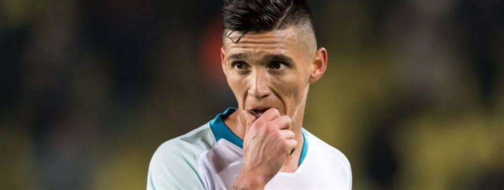 Matías Kranevitter, que se encuentra marginado del Zenit, podría arribar al Monterrey.
