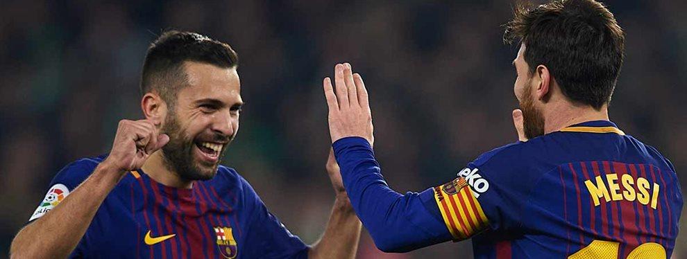 En Barcelona ya sabían de ello pero Setién se acaba de enterar. Los intocables de Messi ya están en la agenda del técnico cántabro. Jordi Alba el primero