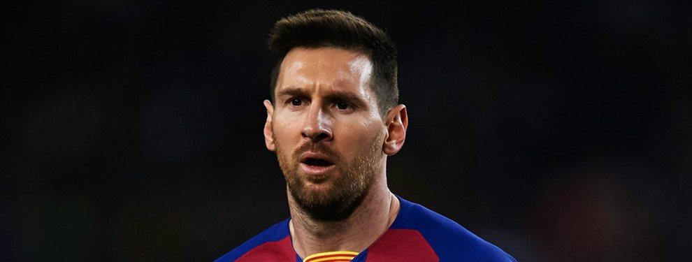 Lionel Messi se ha llevado la segunda sorpresa del año, después de la destitución de Ernesto Valverde y la llegada de Quique Setién.