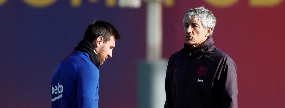 Quique Setién fue tomado en cuenta como opción para dirigir al Barcelona porque es un técnico que entiende el fútbol desde sus raíces.